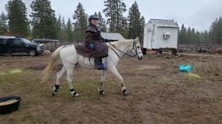 Lynne and Lumpy (SAR Tiki Eclipse) got together to complete the 25 miler.